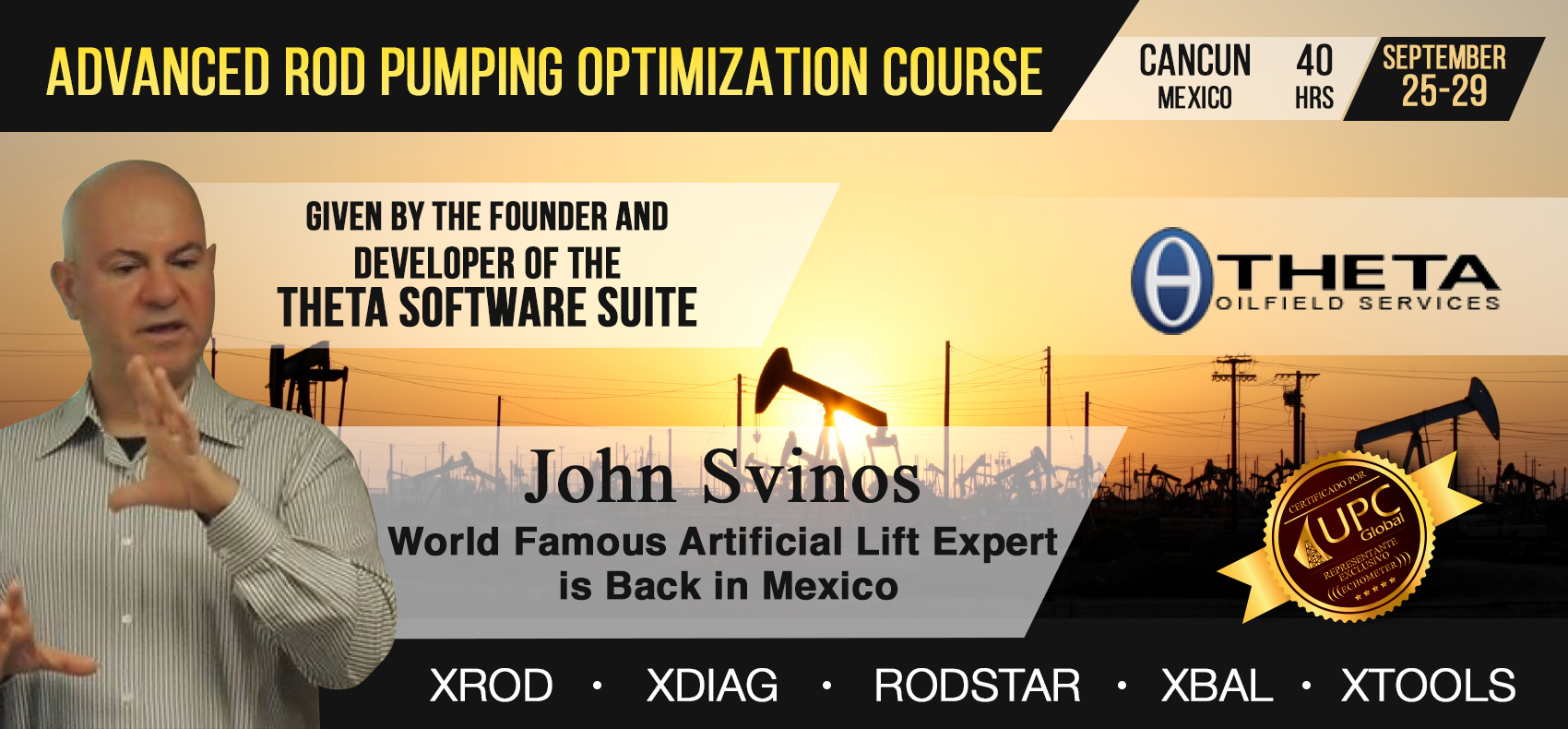 Rod Pumping Optimization Course by John Svinos