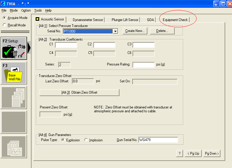 How to enable pressure transient tracking in Echometer TWM - Step 4